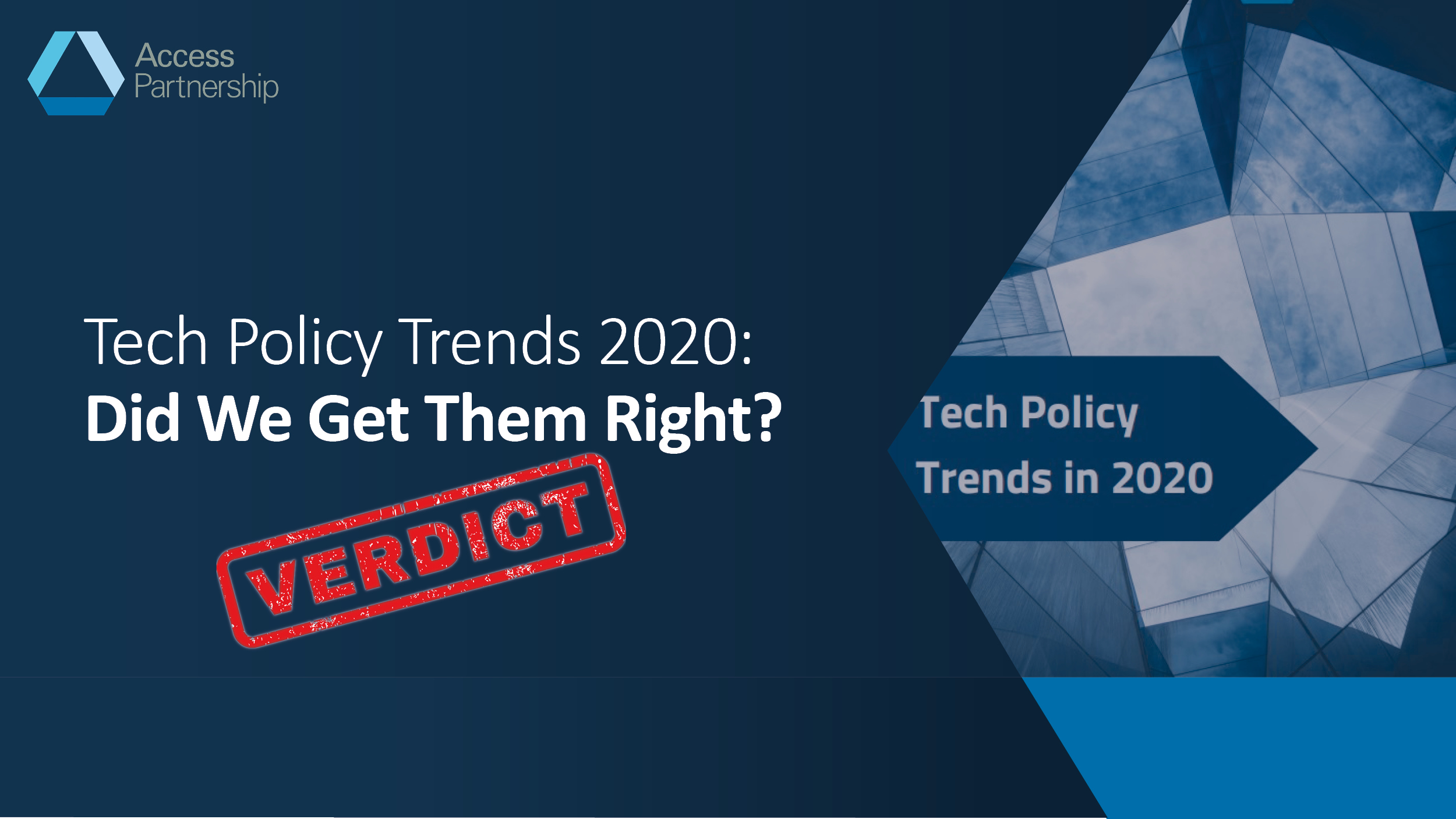Tech Policy Trends 2020: Did We Get Them Right?