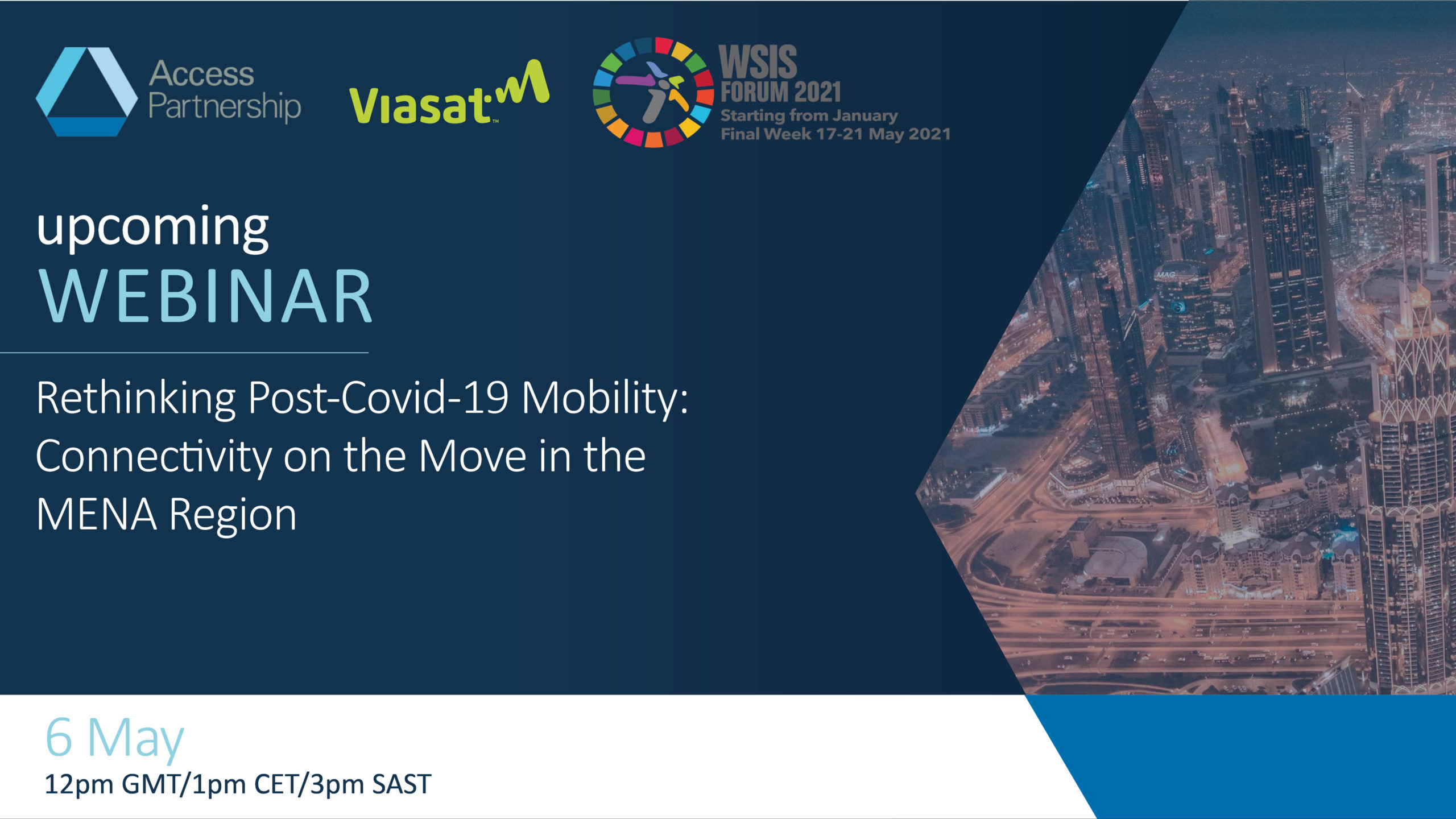 Workshop | Rethinking Post-Covid-19 Mobility: Connectivity on the Move in the MENA Region